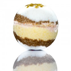 Muesli Bath Bomb - Fruits with Oats, Honey & Jogurt
