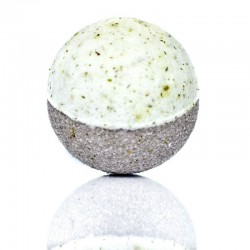 Herb Garden Bath Bomb - Rosemary, Sage, Mint & Comfrey with Organic Alpine Herbal Tea